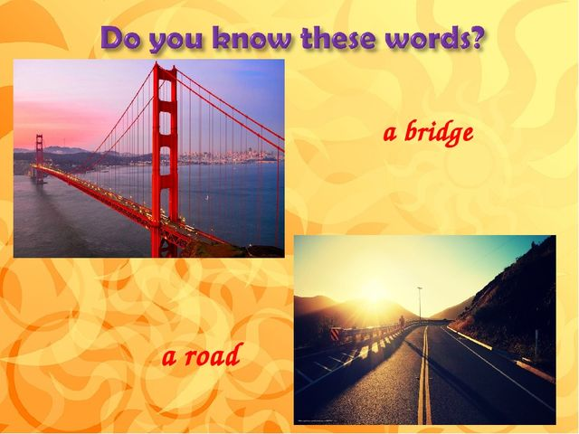 a bridge a road