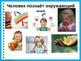 Человек познаёт окружающий мир FokinaLida.75@mail.ru
