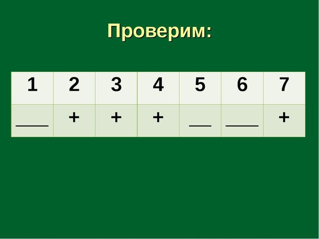 Проверим: 1234567 ___+++_____+
