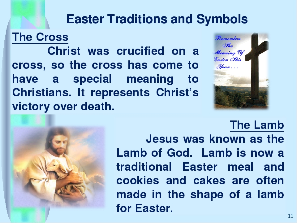 Easter Traditions and Symbols *