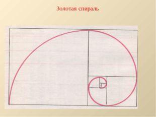 Золотая спираль