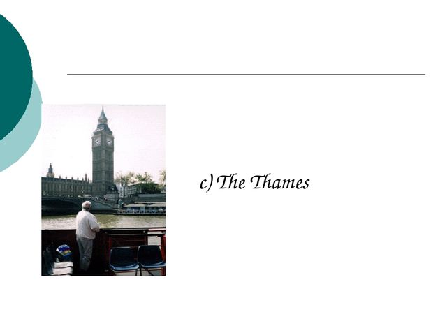 c) The Thames