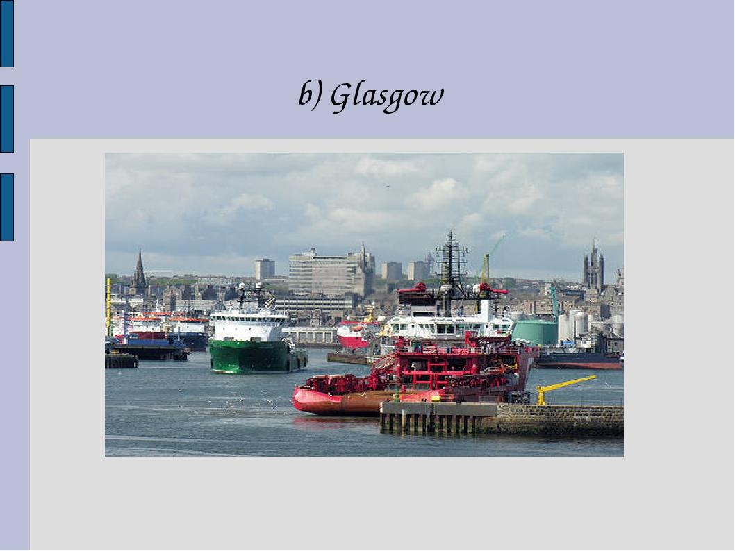 b) Glasgow