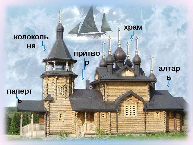 колокольня паперть притвор храм алтарь Парусник - http://img-fotki.yandex.ru/...