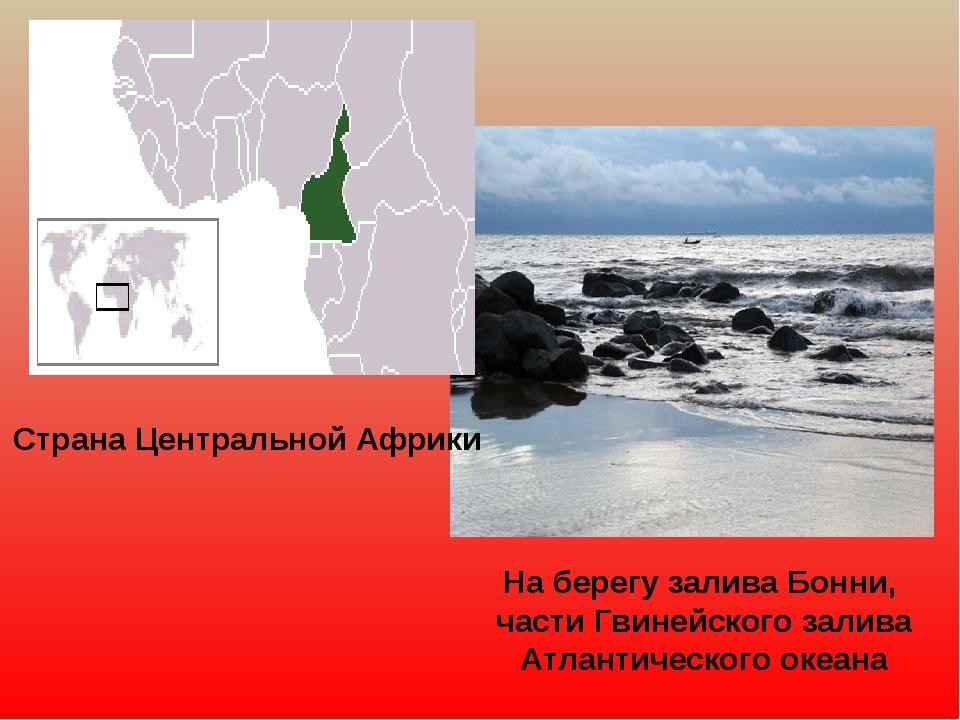 Страна Центральной Африки На берегу залива Бонни, части Гвинейского залива Ат...
