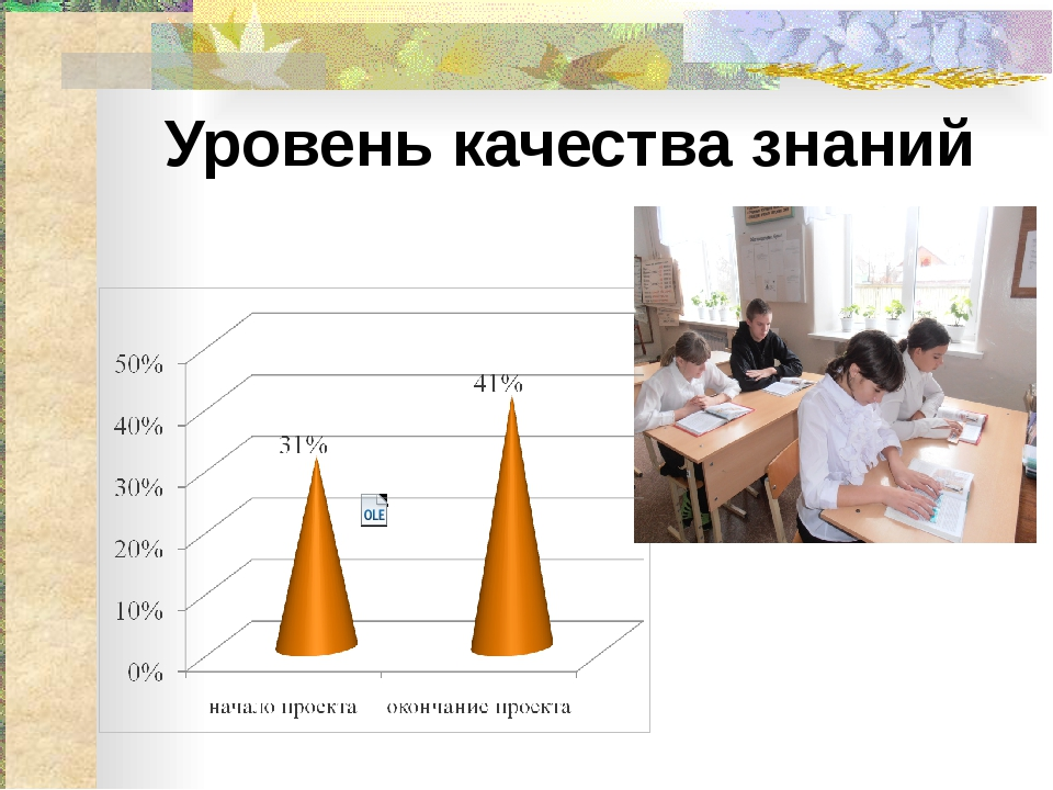 Уровень качества знаний