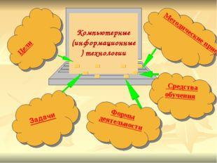 Компьютерные (информационные) технологии Формы деятельности Цели Задачи Мето