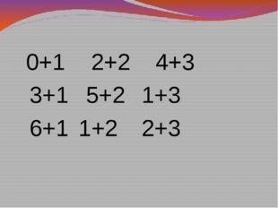 0+1 2+24+3 3+1 5+21+3 6+1 1+22+3