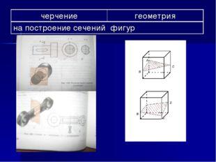 черчениегеометрия на построение сечений фигур