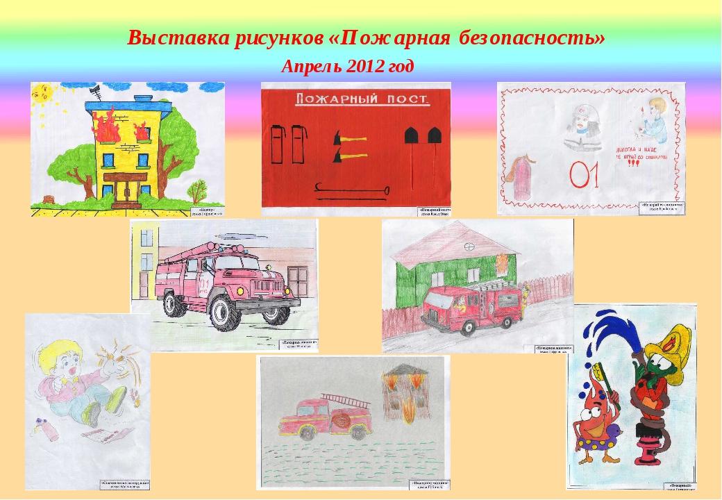 Рисунки по безопасности для выставки