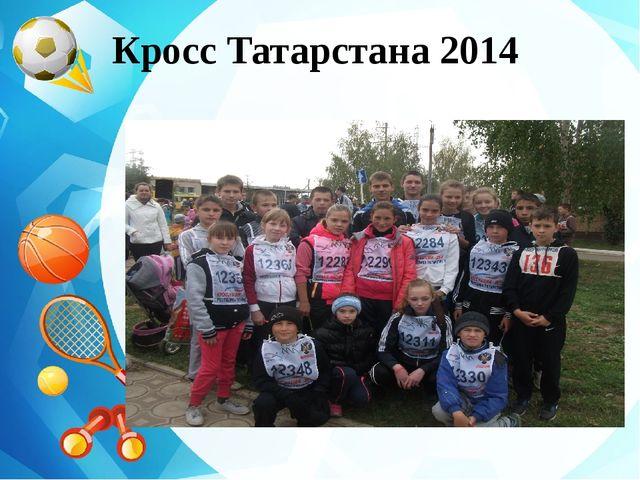 Кросс Татарстана 2014