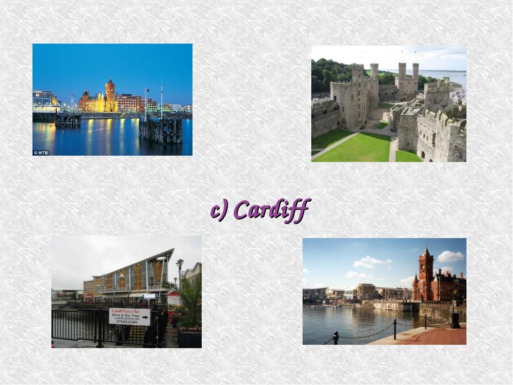 c) Cardiff