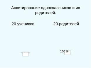 0 0% -- всё свободное время – 2 уч. 10% -- несколько часов в день 8 уч. 40 %