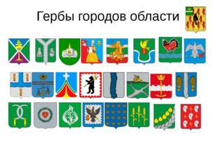 Гербы городов области Городские поселения Балабаново  Белоусово  Боровск