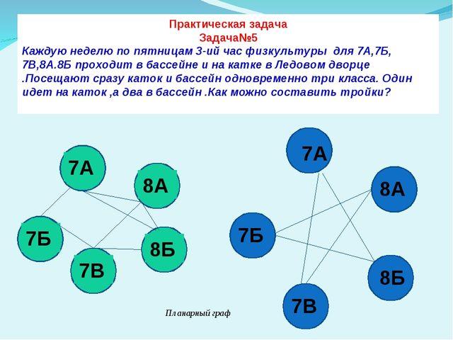 Практическая задача Задача№5 Каждую неделю по пятницам 3-ий час физкультуры д...