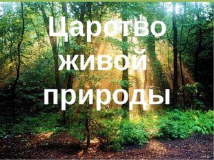Царство живой природы