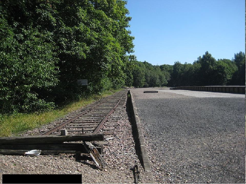 Ж/д станция Бухенвальд