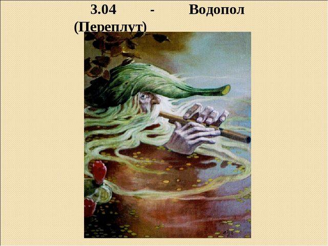 3.04 - Водопол (Переплут)