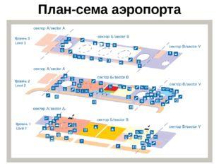 План-сема аэропорта
