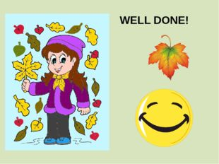 WELL DONE!