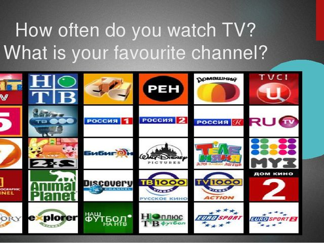 How often do you watch TV? What is your favourite channel?