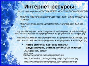 Интернет-ресурсы: http://img-fotki.yandex.ru/get/3/111874181.b2/0_9762e_69e82
