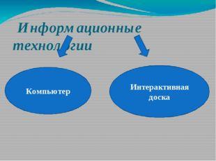 Информационные технологии Компьютер Интерактивная доска