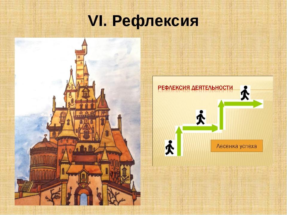 VI. Рефлексия