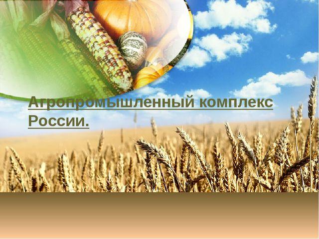 Агропромышленный Комплекс России Презентация 9 Класс Скачать Бесплатно