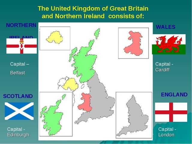 ENGLAND SCOTLAND WALES NORTHERN IRELAND The United Kingdom of Great Britain a...
