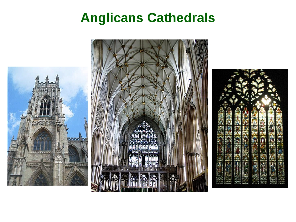 Anglicans Cathedrals