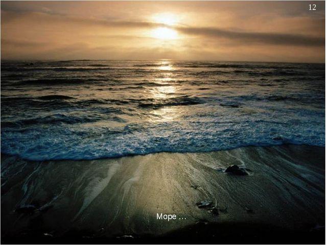 * Море …