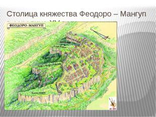 Столица княжества Феодоро – Мангуп в середине XV века