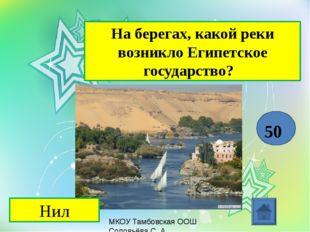 МКОУ Тамбовская ООШ Соловьёва С. А. Назовите религии, возникшие в средние ве