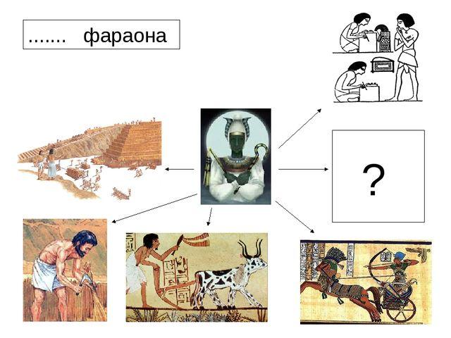 ? ....... фараона