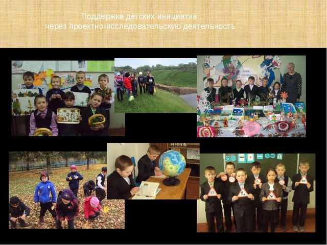 Поддержка детских инициатив через проектно-исследовательскую деятельность