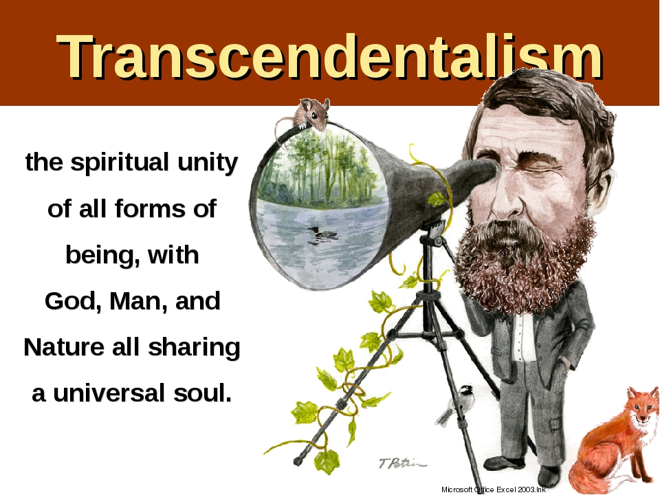 the puritan and transcendentalist beliefs in god