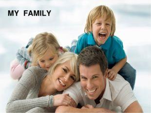 Классический фотоальбом MY FAMILY Заголовок фотоальбома Щелкните, чтобы добав