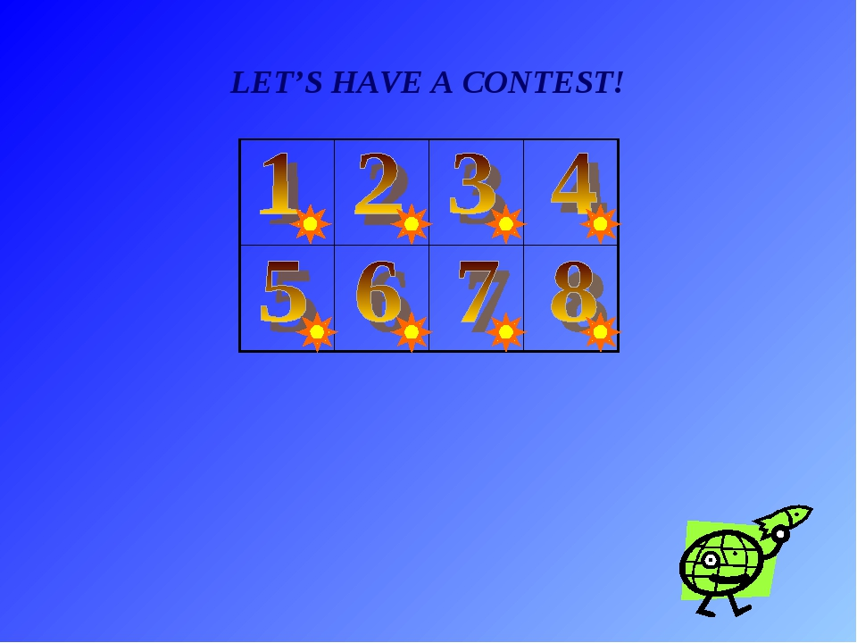 LET'S HAVE A CONTEST!