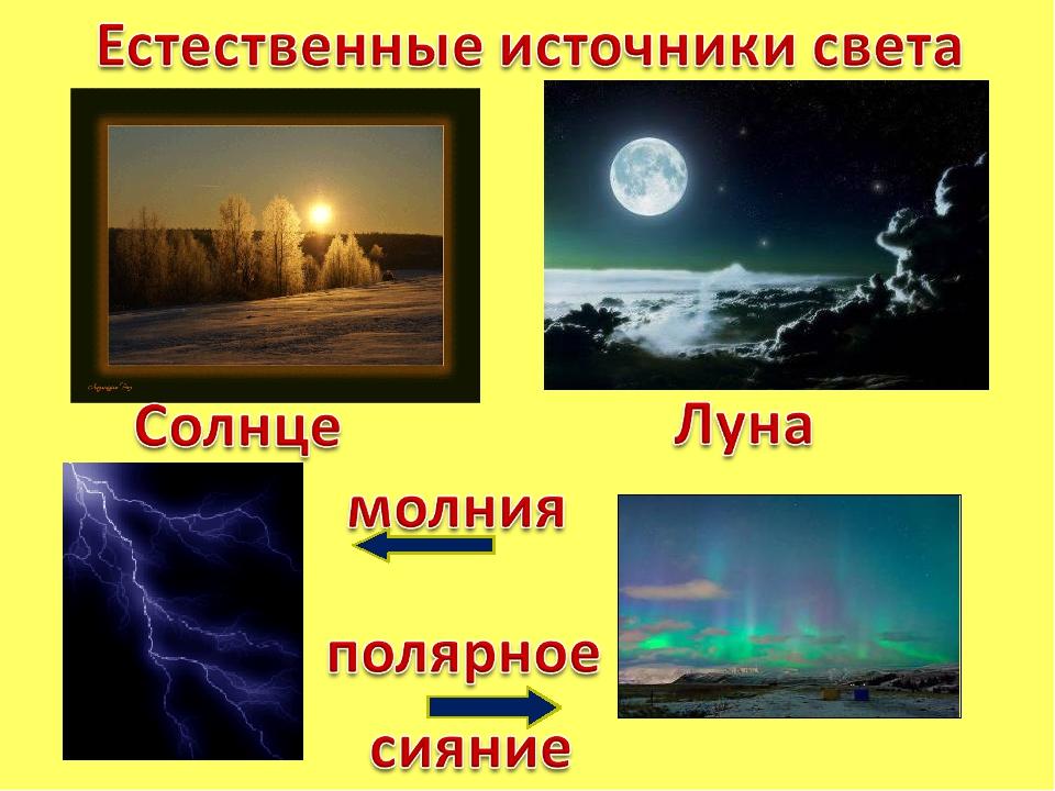 фоты картинки источника света того