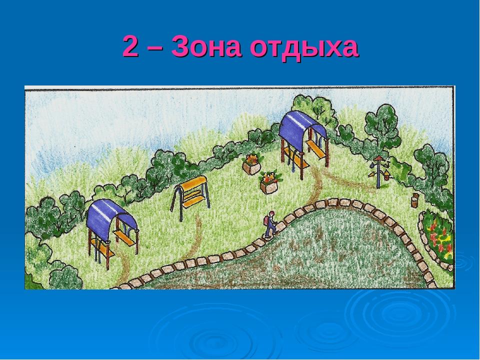 2 – Зона отдыха