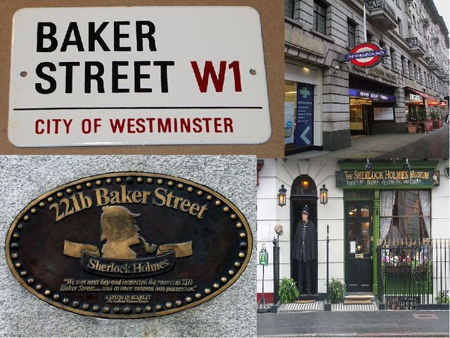 Baker Street (Baker Street) — the brisk street in Merilebon's London region (...