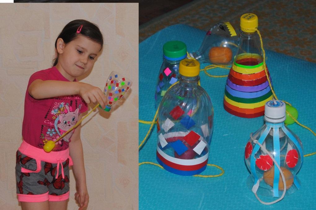 Развивающие игрушки своими руками из пластиковой бутылки