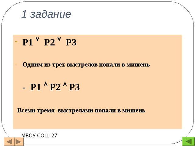Изучение нового материала Таблица истинности – это таблица, описывающая логич...