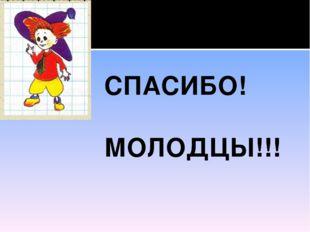 СПАСИБО! МОЛОДЦЫ!!!