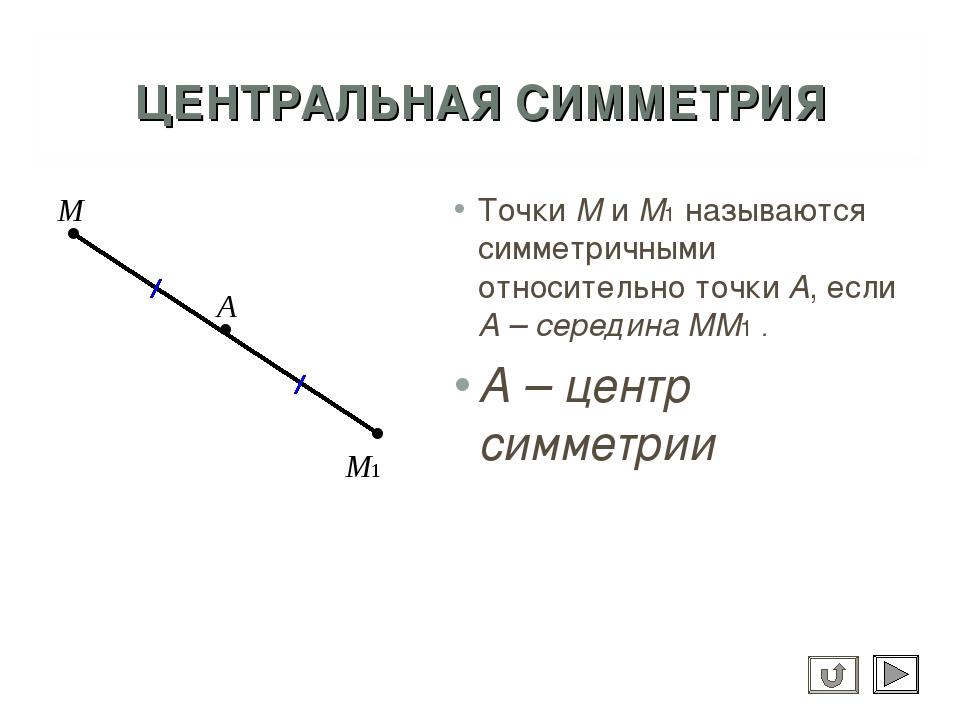 Как сделать центральная симметрия 13