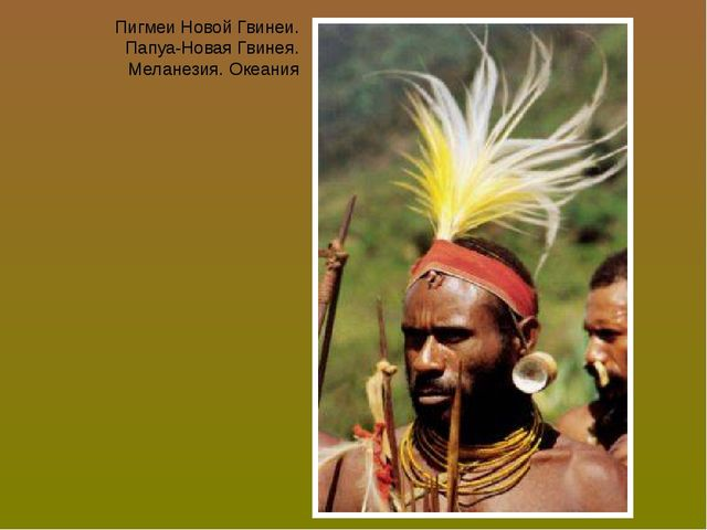 Пигмеи Новой Гвинеи. Папуа-Новая Гвинея. Меланезия. Океания