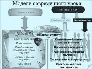 По моему мнению, современный урок должен быть интересным, познавательным, об