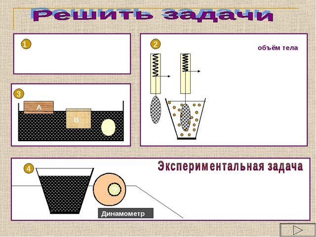 1 2 4 ? Динамометр Как определить, имеет ли стальной шар внутри полость или о...