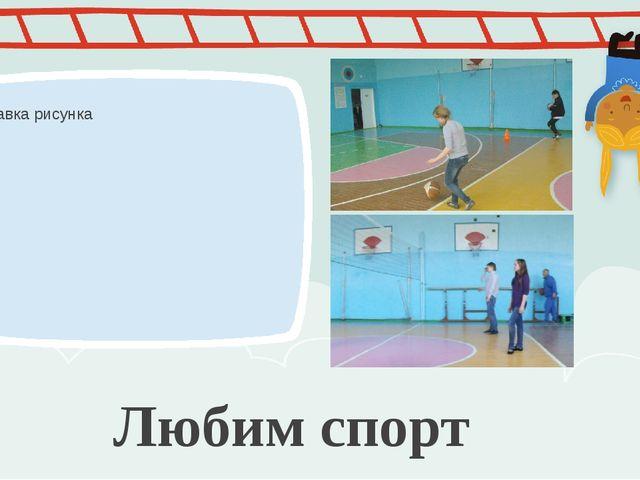 Любим спорт